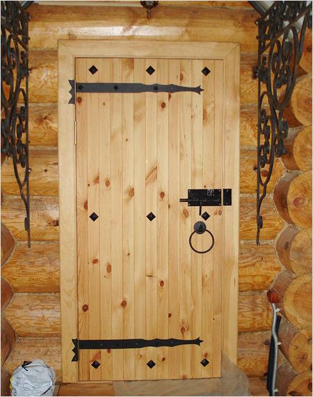 Двери бани