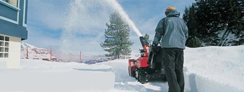 Снегоуборочные машины для дачи