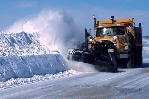 Тяжелые снегоуборочные машины